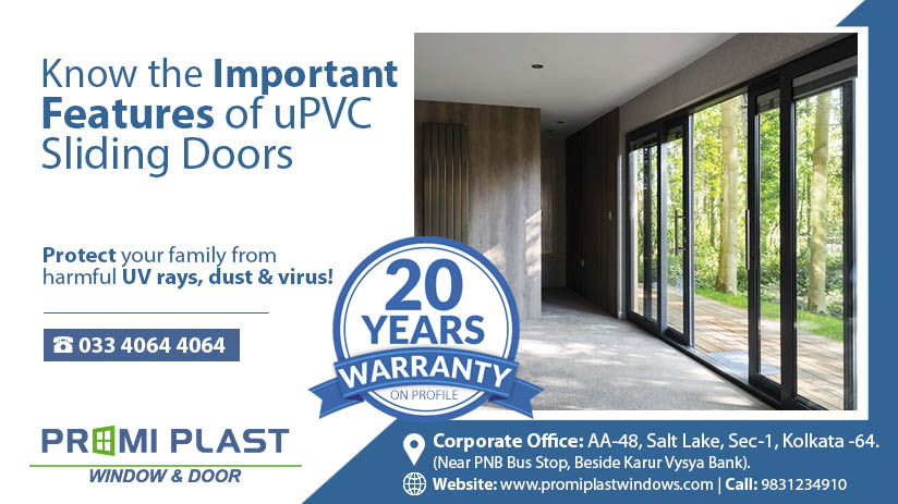 Important Features of uPVC Sliding Doors