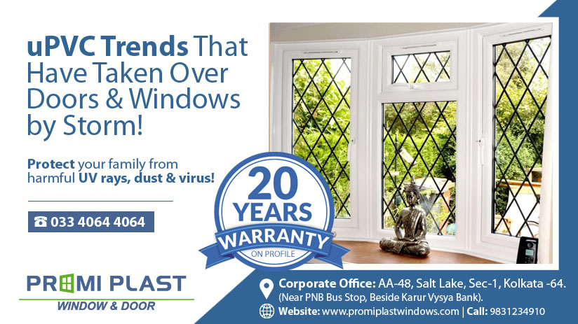 uPVC trends that have taken over doors and windows by storm!