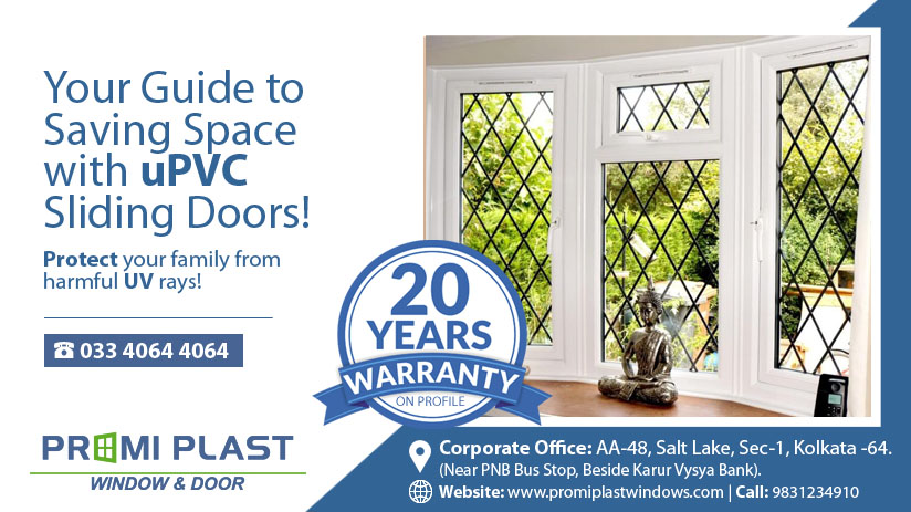 Your guide to saving space with uPVC sliding doors!