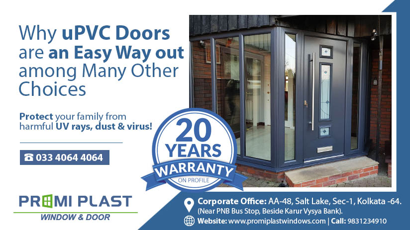 Why uPVC Doors are an Easy Way out among Many Other Choices