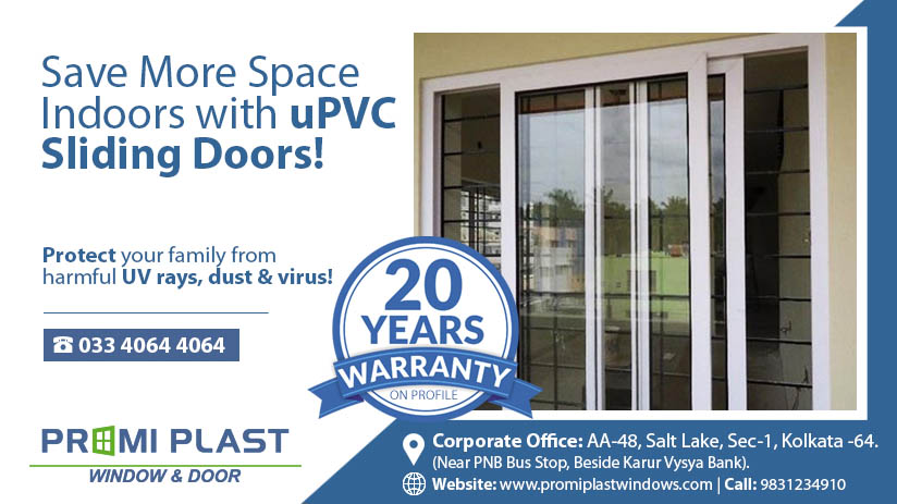 Save More Space Indoors with uPVC Sliding Doors!