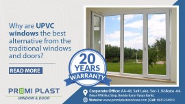 Why are UPVC windows the best alternative from the traditional windows and doors?