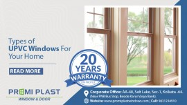 Types of uPVC windows for your home