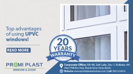 Top advantages of using UPVC windows!