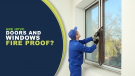 Does UPVC doors and windows are fire proof